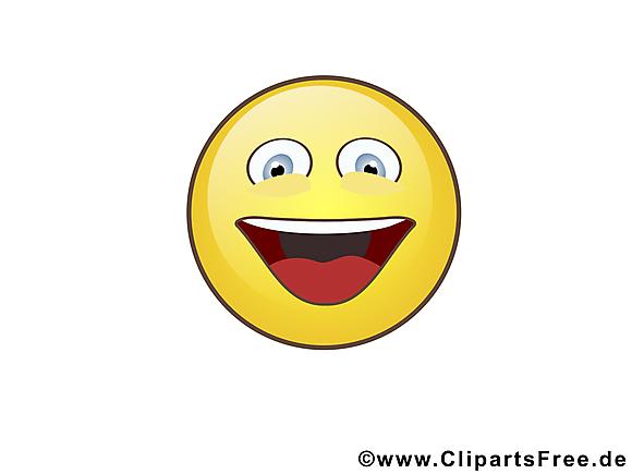 Très heureux smiley clip art gratuit