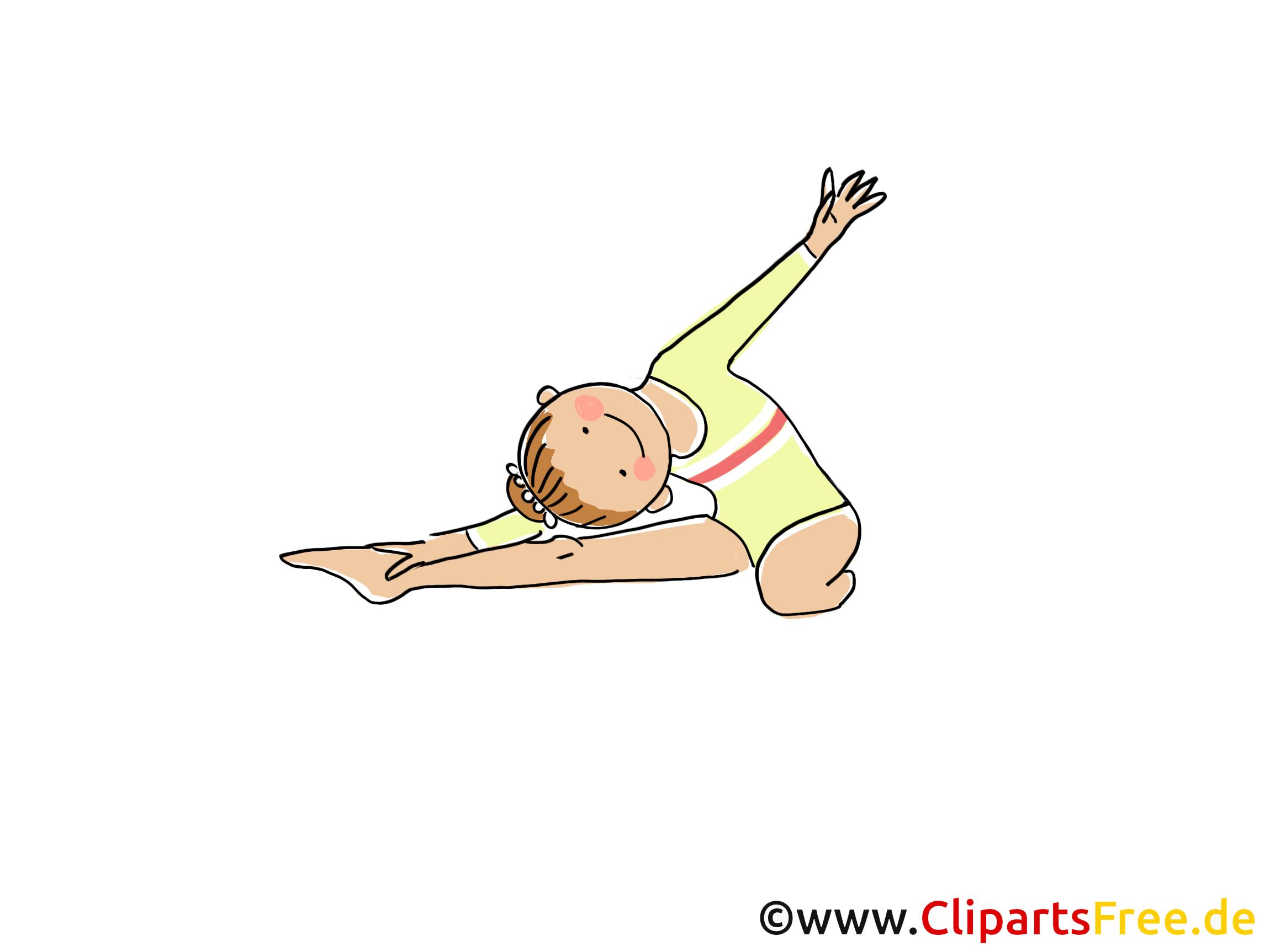 Acrobate dessin - Athlète cliparts à télécharger