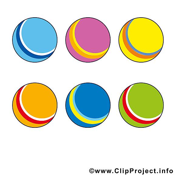 Balles image gratuite - Boules illustration