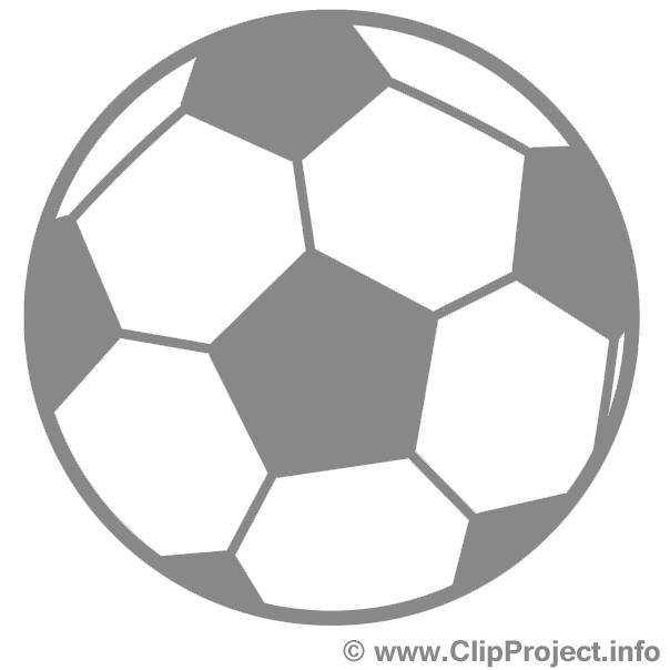 Ballon dessin - Foot cliparts à télécharger