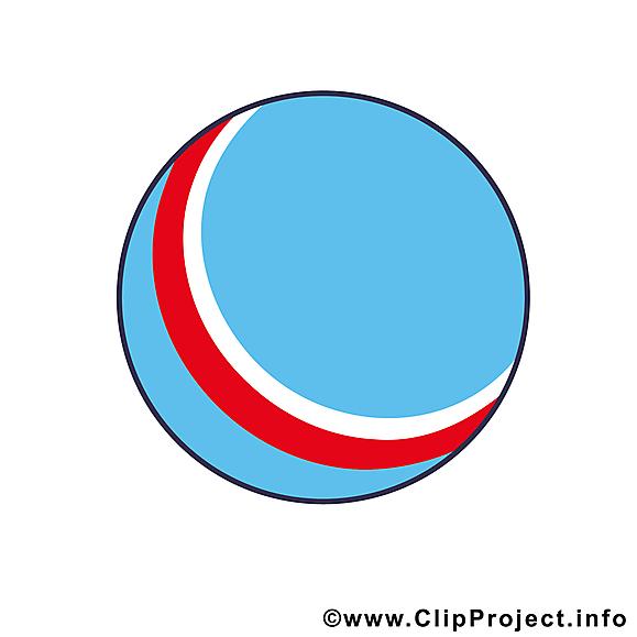 Ballon illustration gratuite - Balle clipart