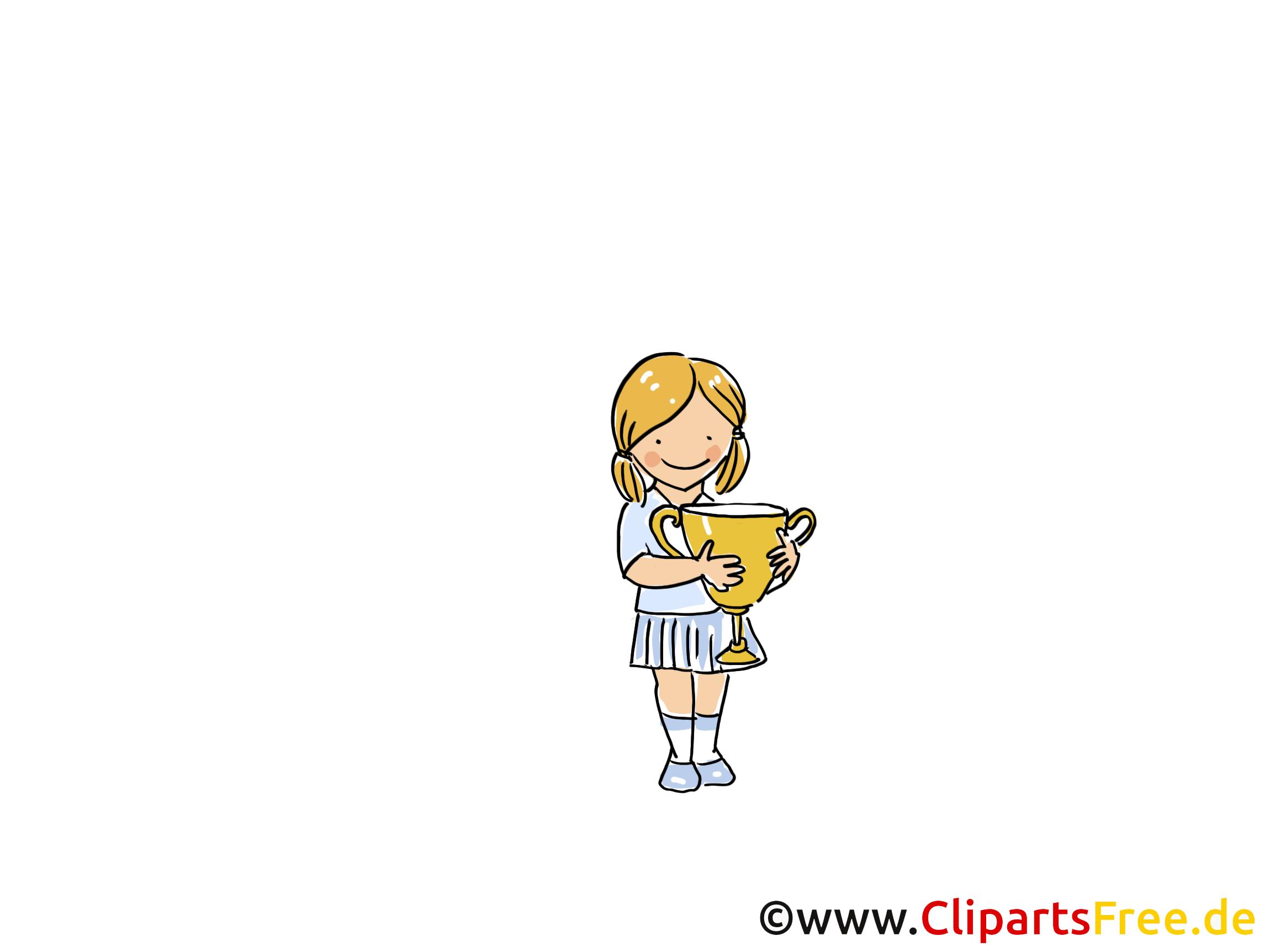 Coupe images - Gagnante dessins gratuits