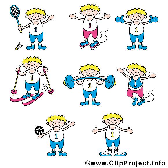 Disciplines sportives images clipart gratuit