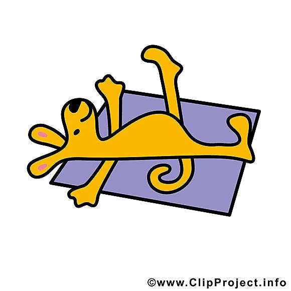 Fitness dessins gratuits - chien clipart gratuit
