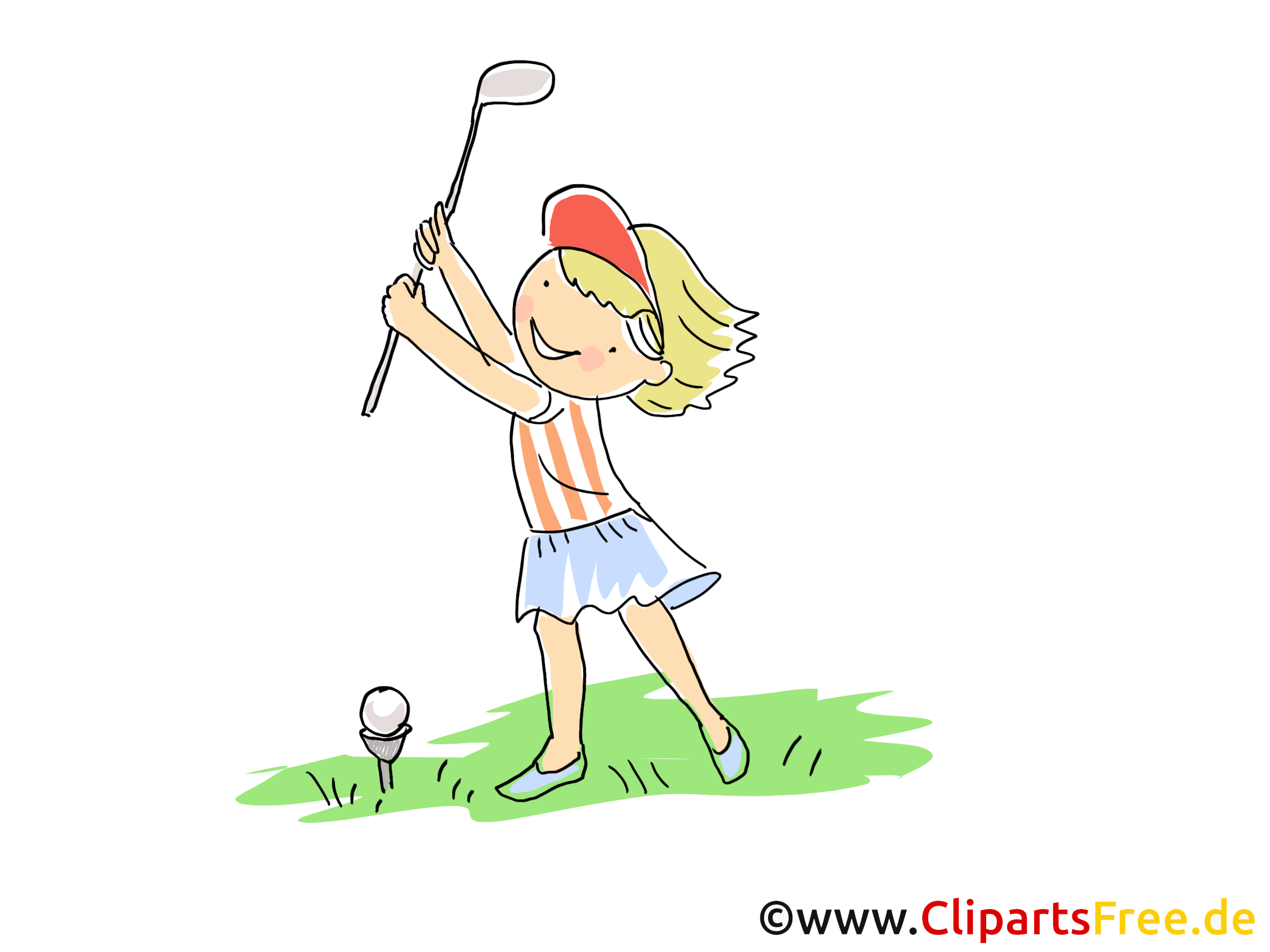 Golf images - balle dessins gratuits