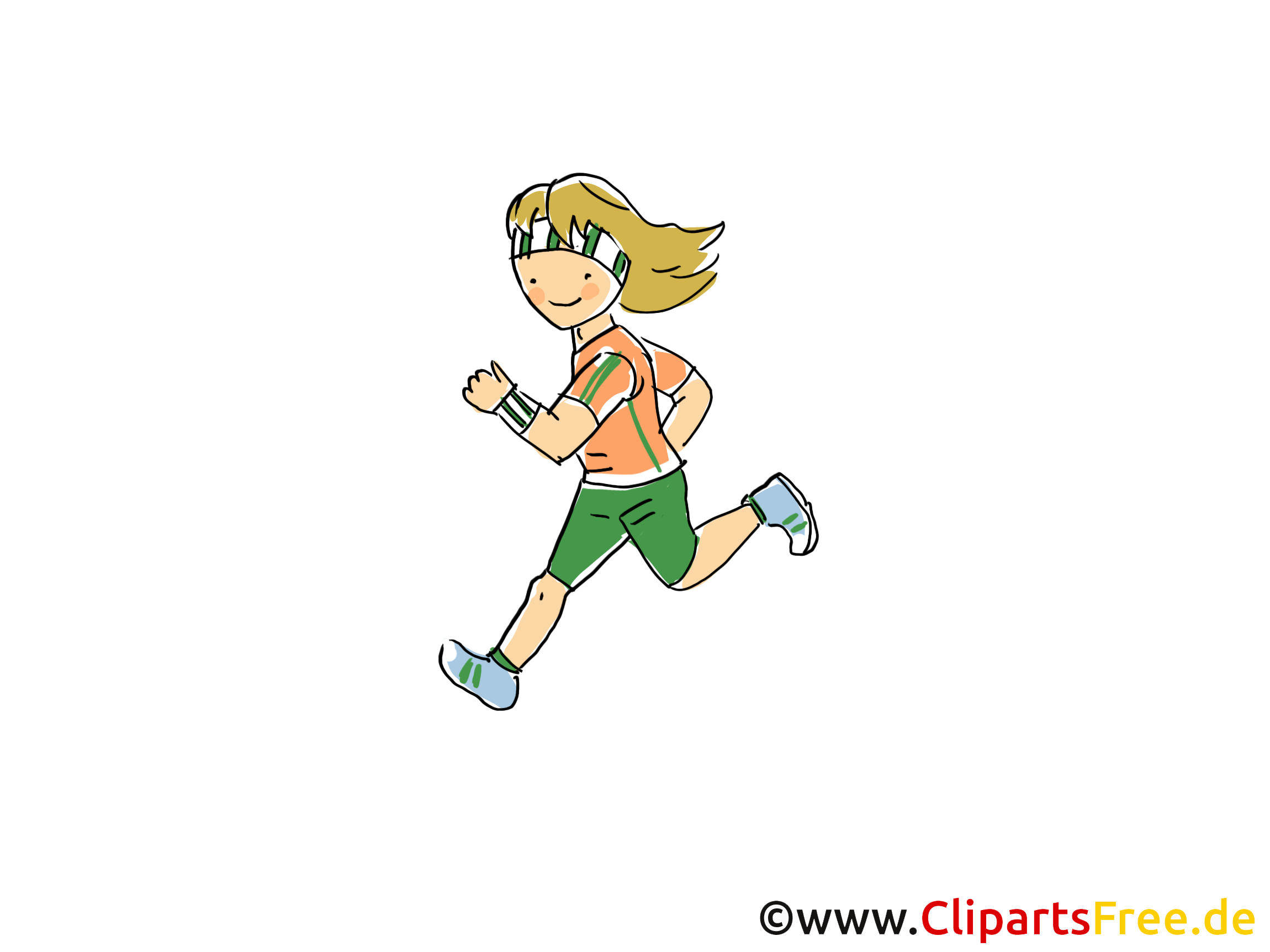 Marathon dessin gratuit - Course clip arts gratuits
