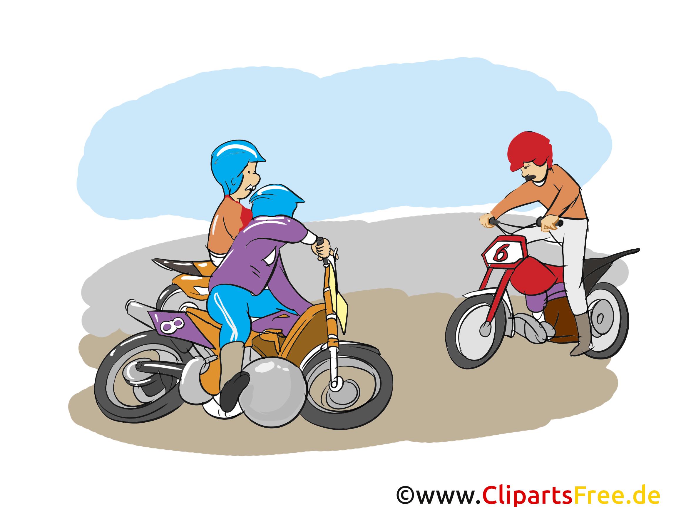 Moto-ball clipart gratuit - Course dessins gratuits