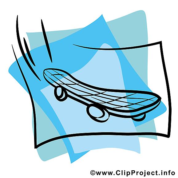 Planche à roulettes image à télécharger gratuite