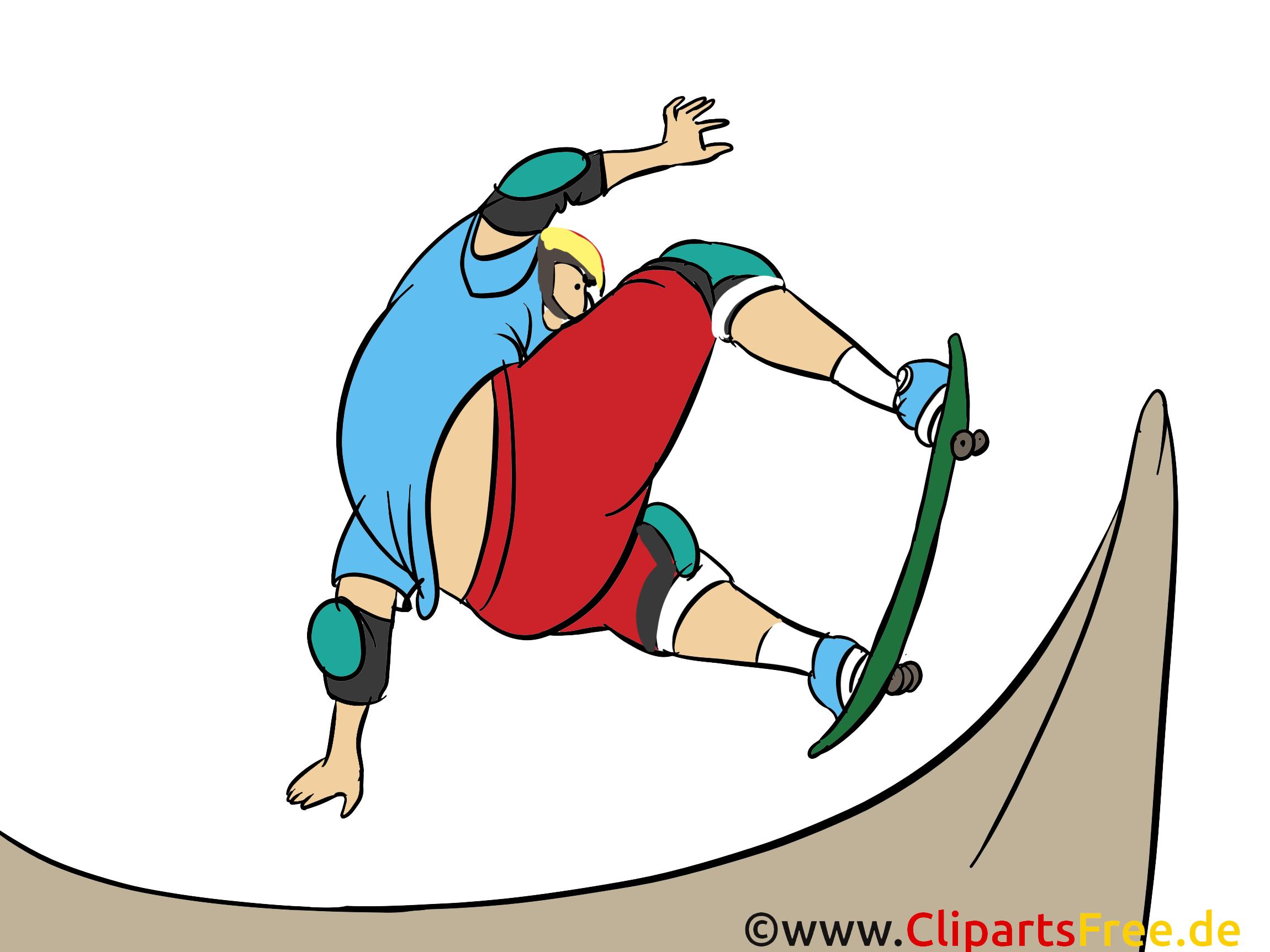 Planche à roulettes images dessins