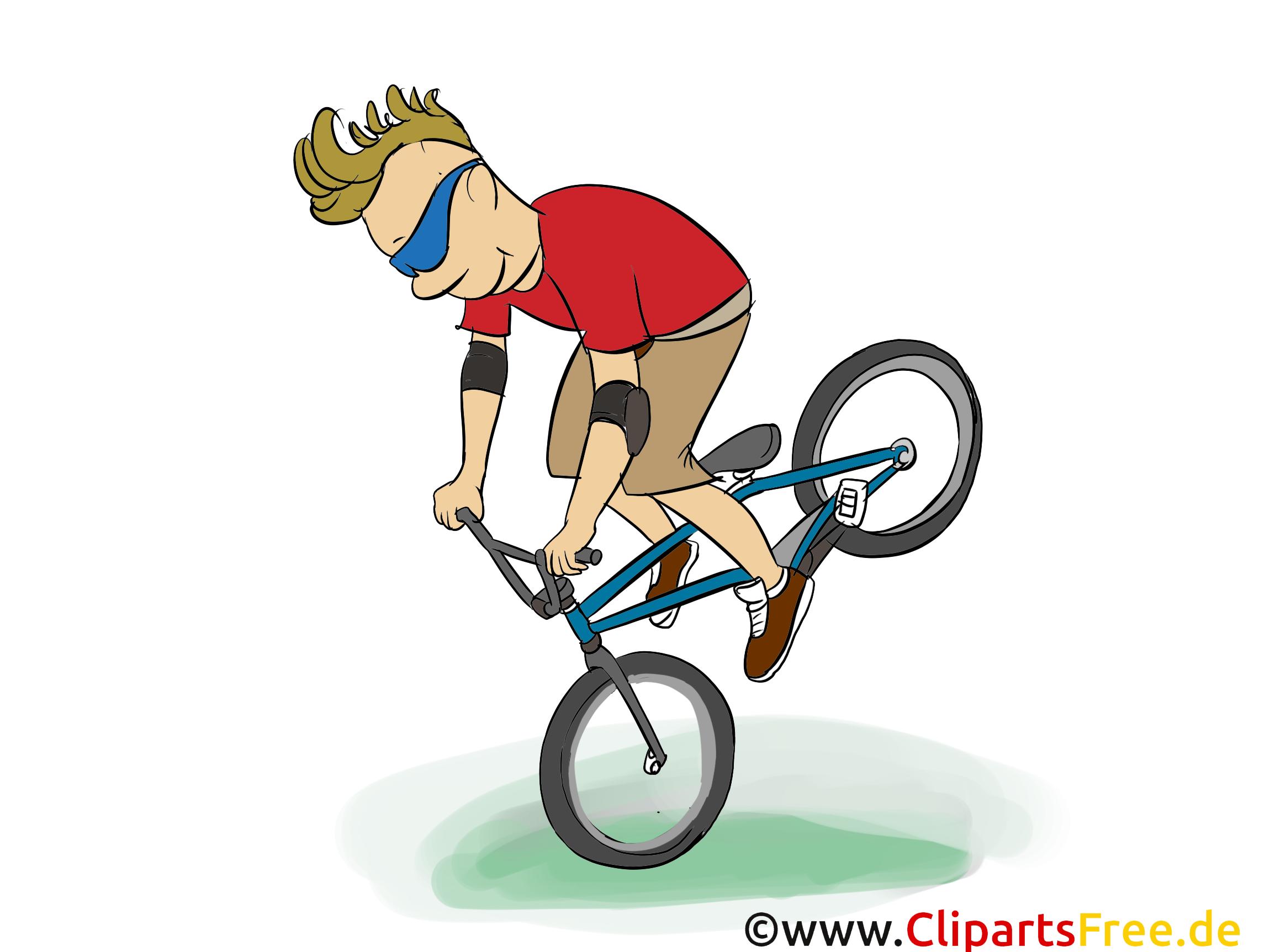 Vélo de montagne illustration à télécharger gratuite