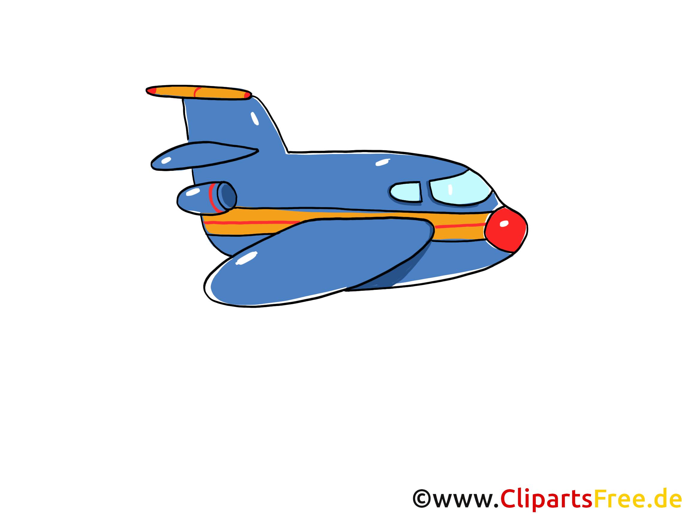 Avion illustration gratuite clipart