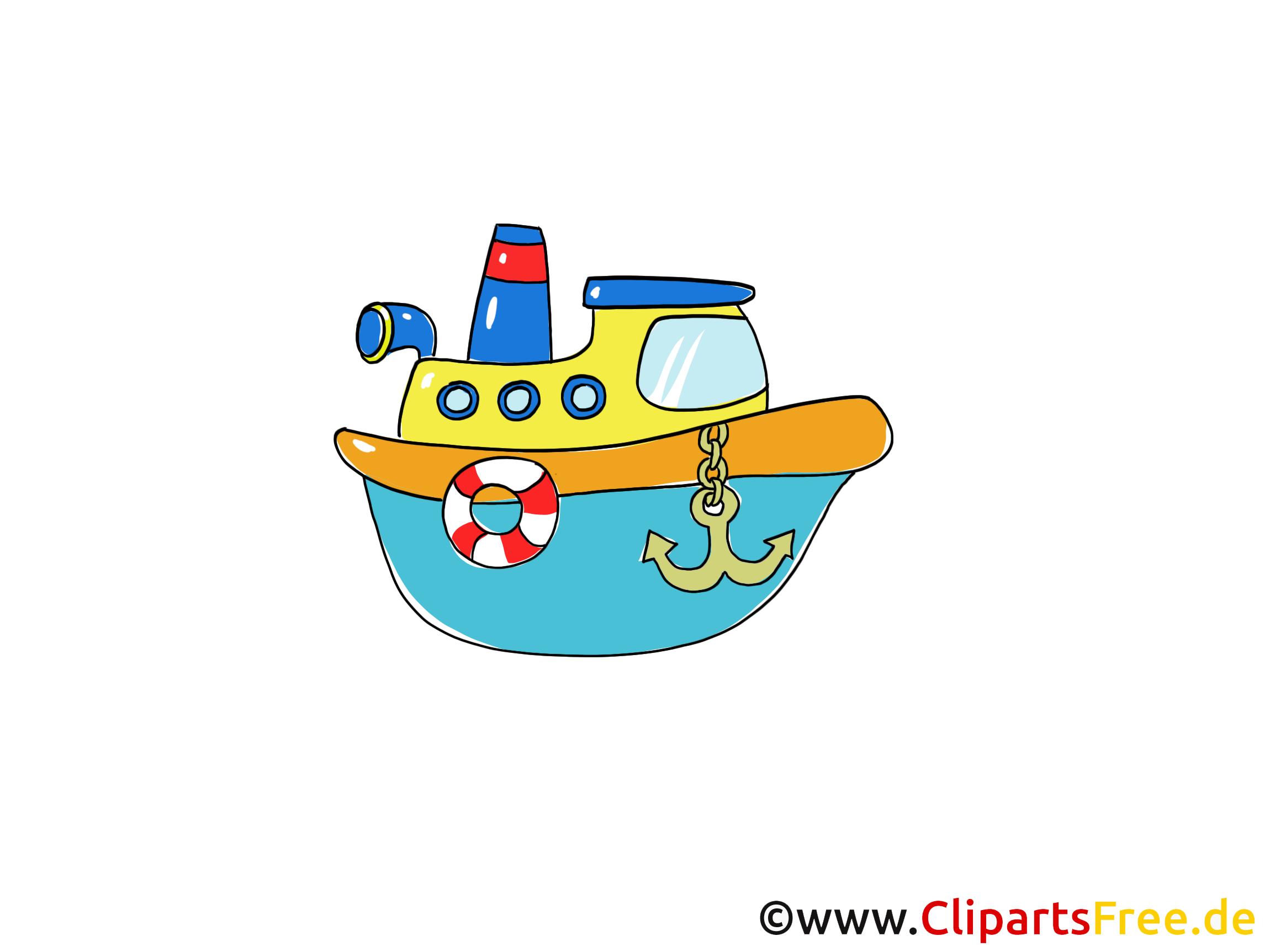 Bateau clip arts gratuits illustrations
