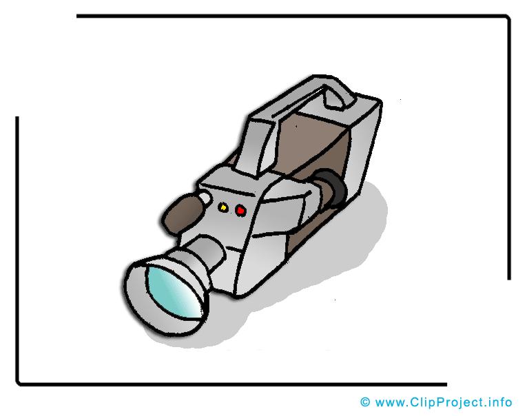 Image: Caméra vidéo dessin - Film cliparts à télécharger
