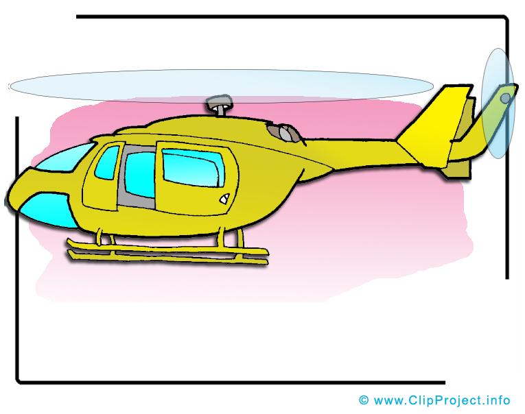 Hélicoptère illustration à télécharger gratuite