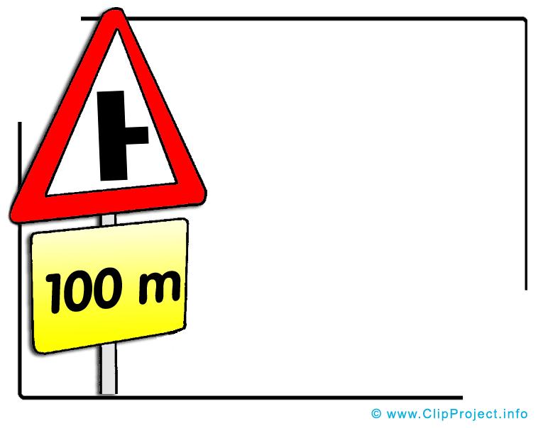 Panneaux routiers dessin - Signaux de route image