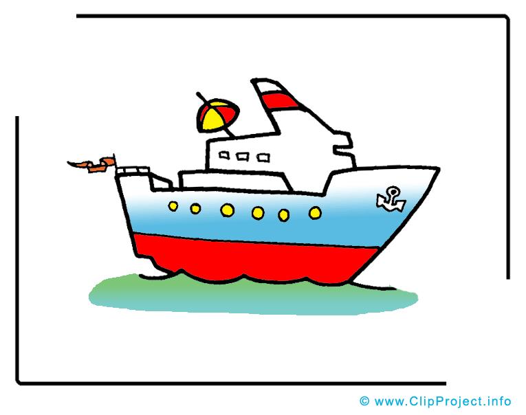 Paquebot illustration gratuite - Bateau clipart