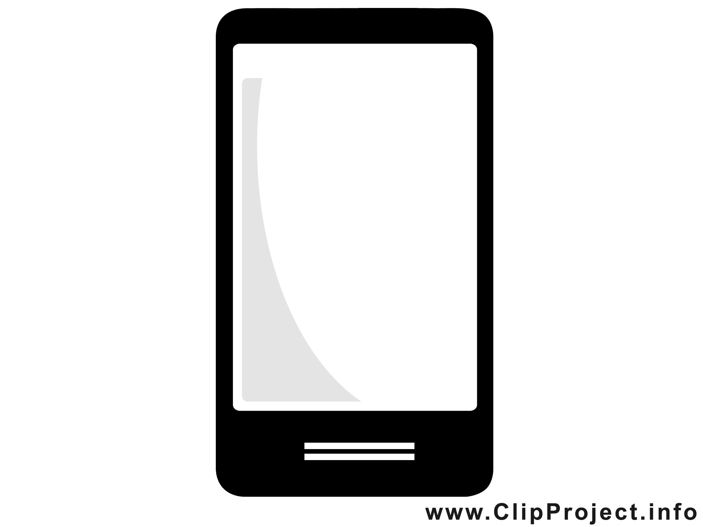 Portable image gratuite - Téléphone cliparts