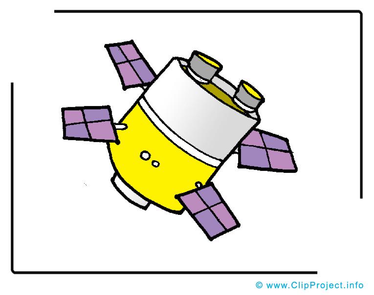 Satellite cliparts gratuis - Cosmos images gratuites
