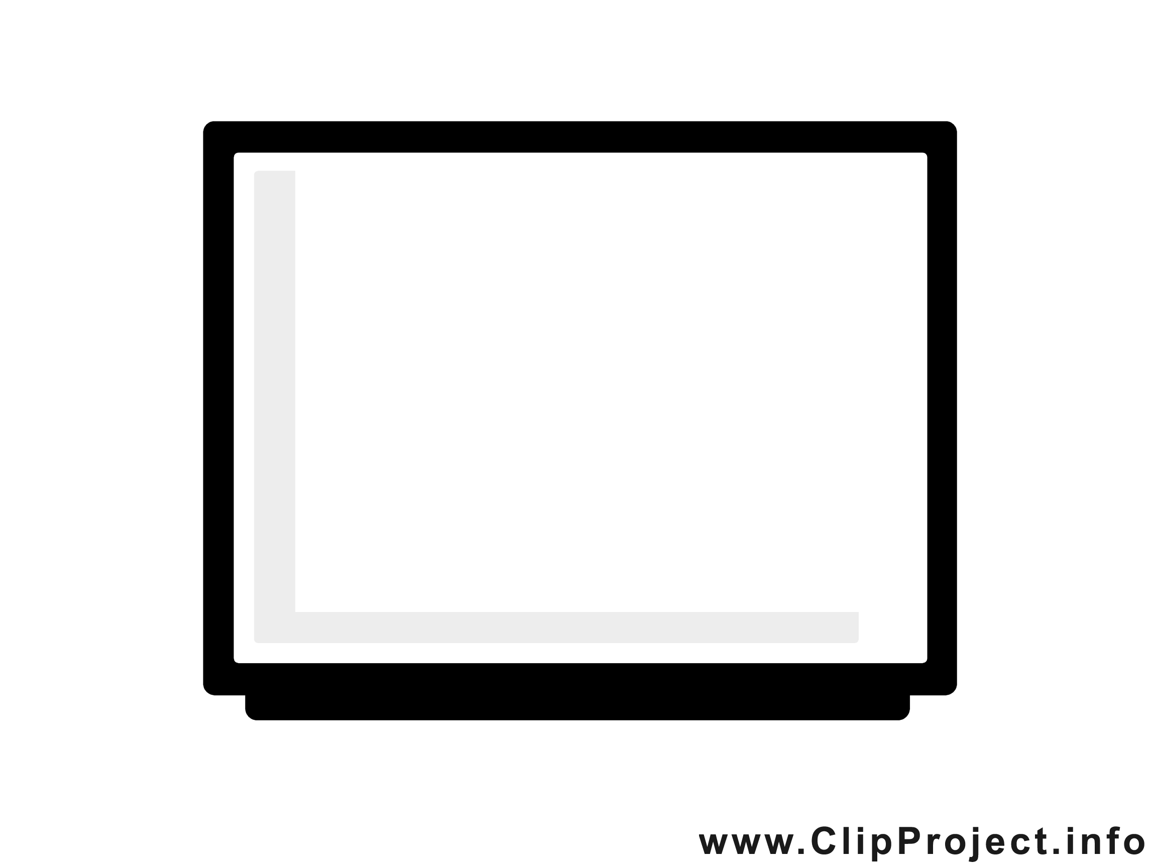 Télé clip art gratuit – Télévision images gratuites