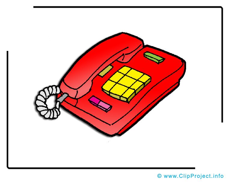 Téléphone dessin gratuit - Appele clip arts gratuits