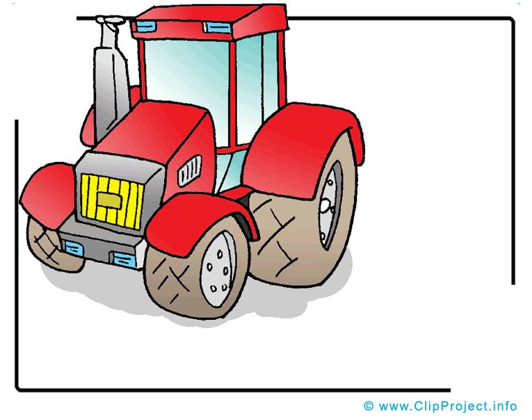 Tracteur clip art image gratuite