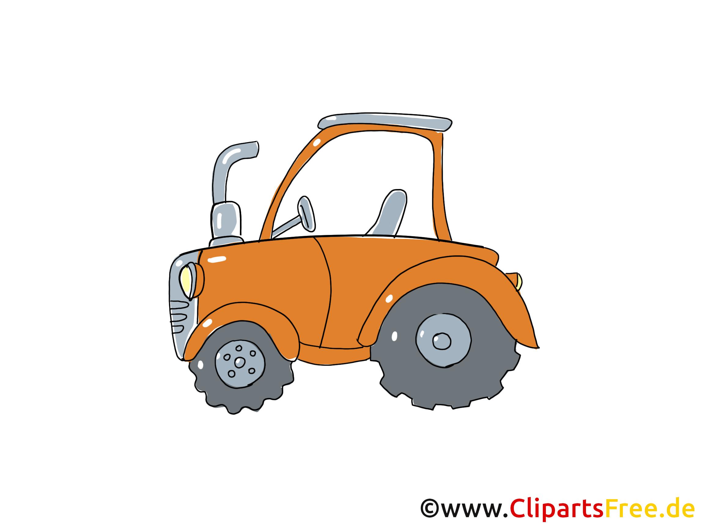 Tracteur dessins gratuits clipart gratuit