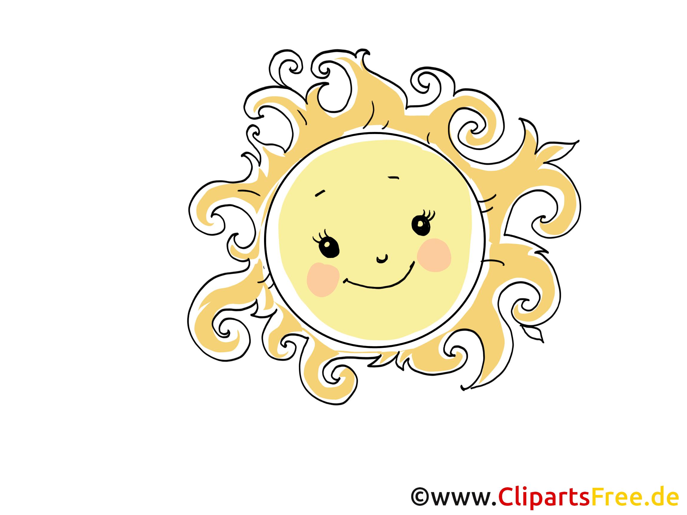 Célèbre Chaleur clipart gratuit - Soleil images gratuites - Temps images  LB45