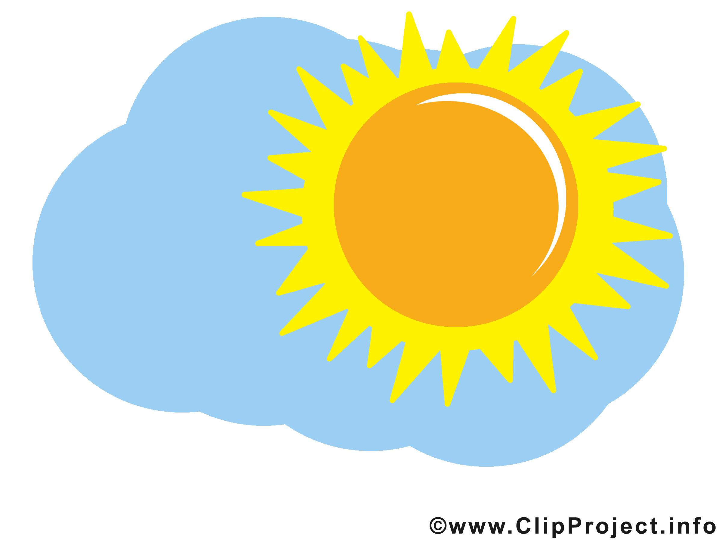 Top Ciel image gratuite – Soleil clipart - Temps images dessin  TW07