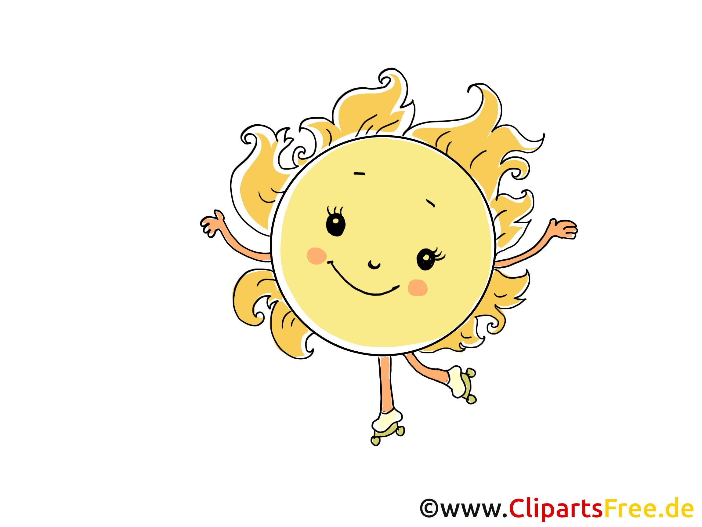 Célèbre Patins à roulettes dessin - Soleil clip art gratuit - Temps images  LB45