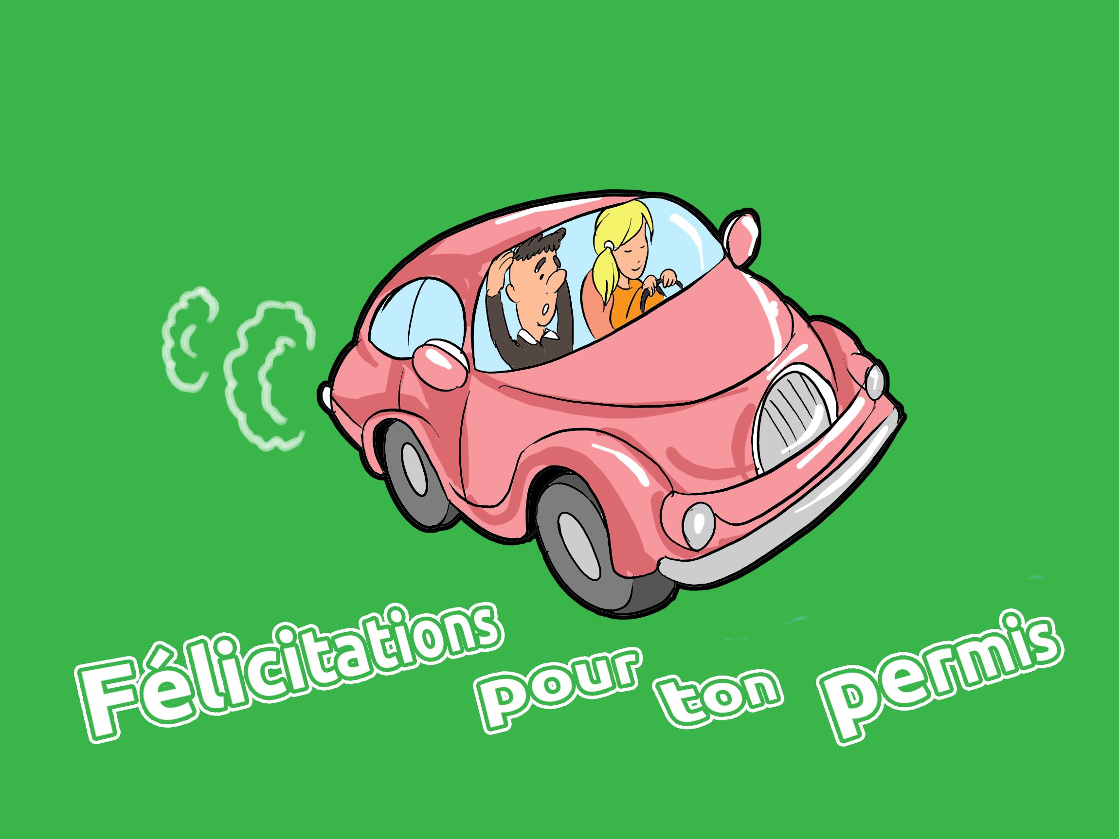 Bonne route images - Voiture dessins gratuits
