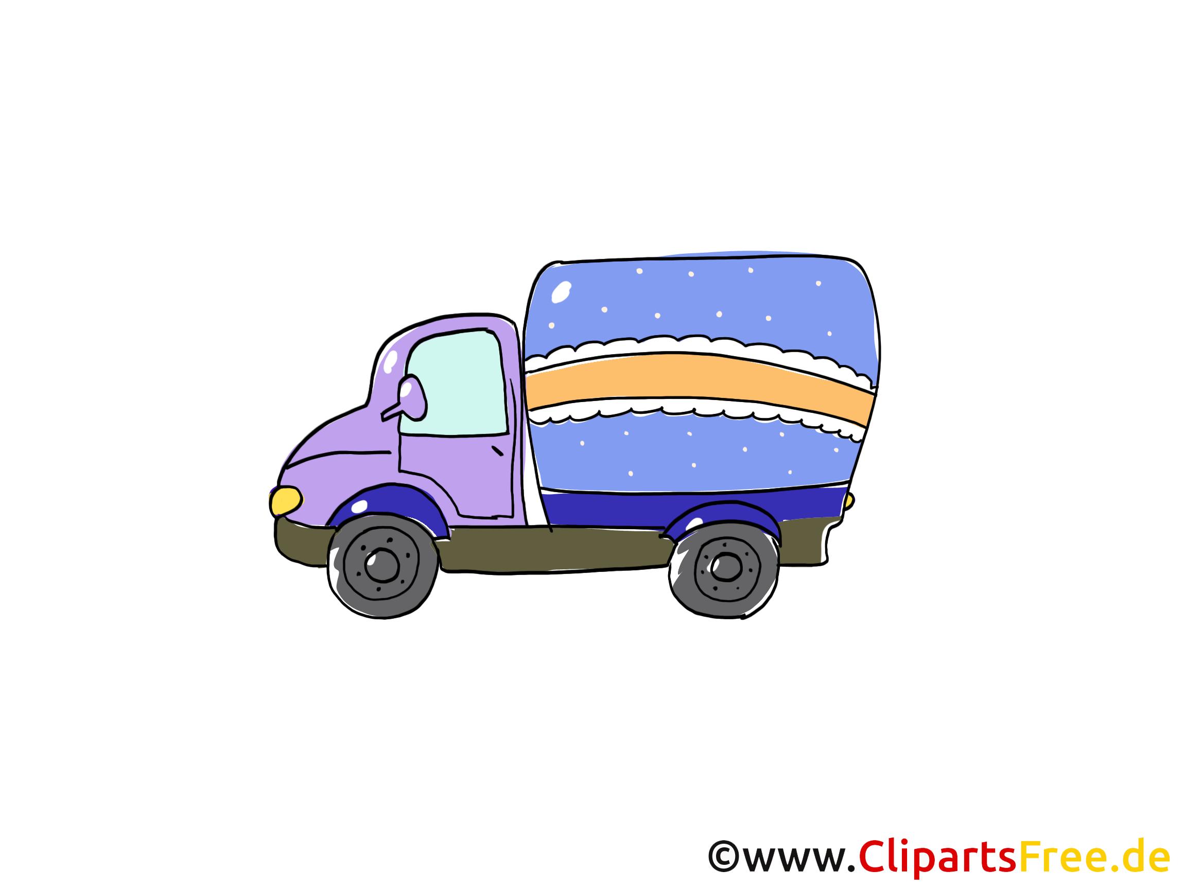 Camion cliparts gratuis - Voiture images gratuites