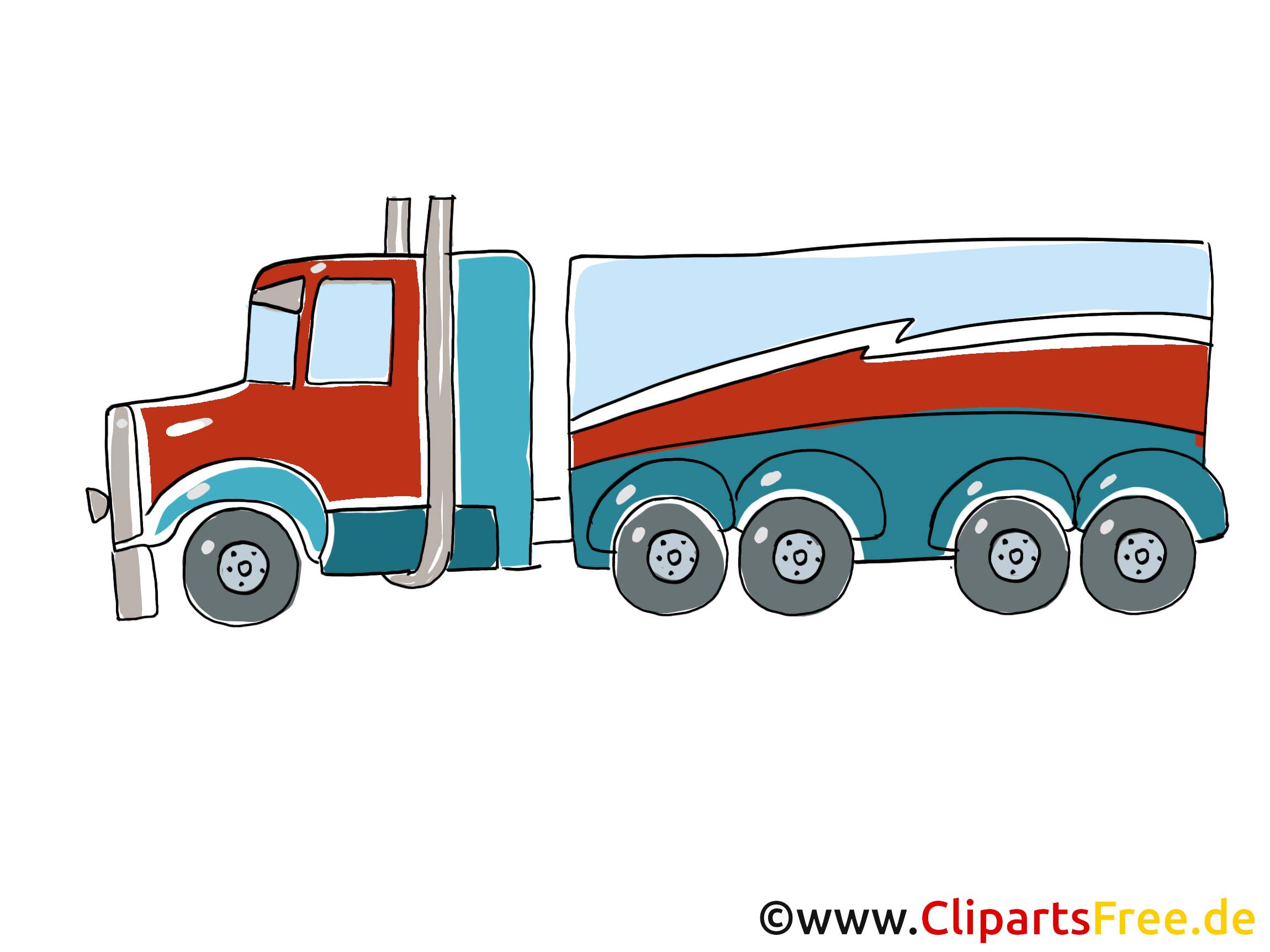 Camion illustration à télécharger gratuite