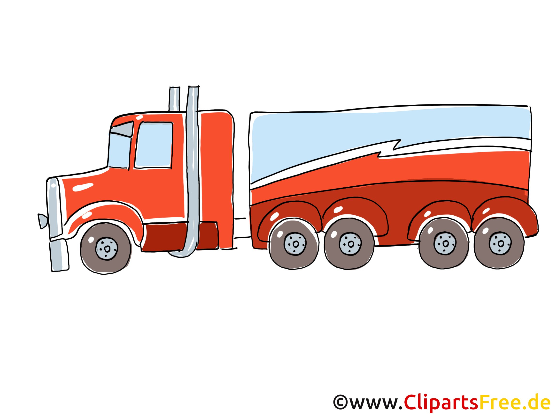 Camion image gratuite illustration