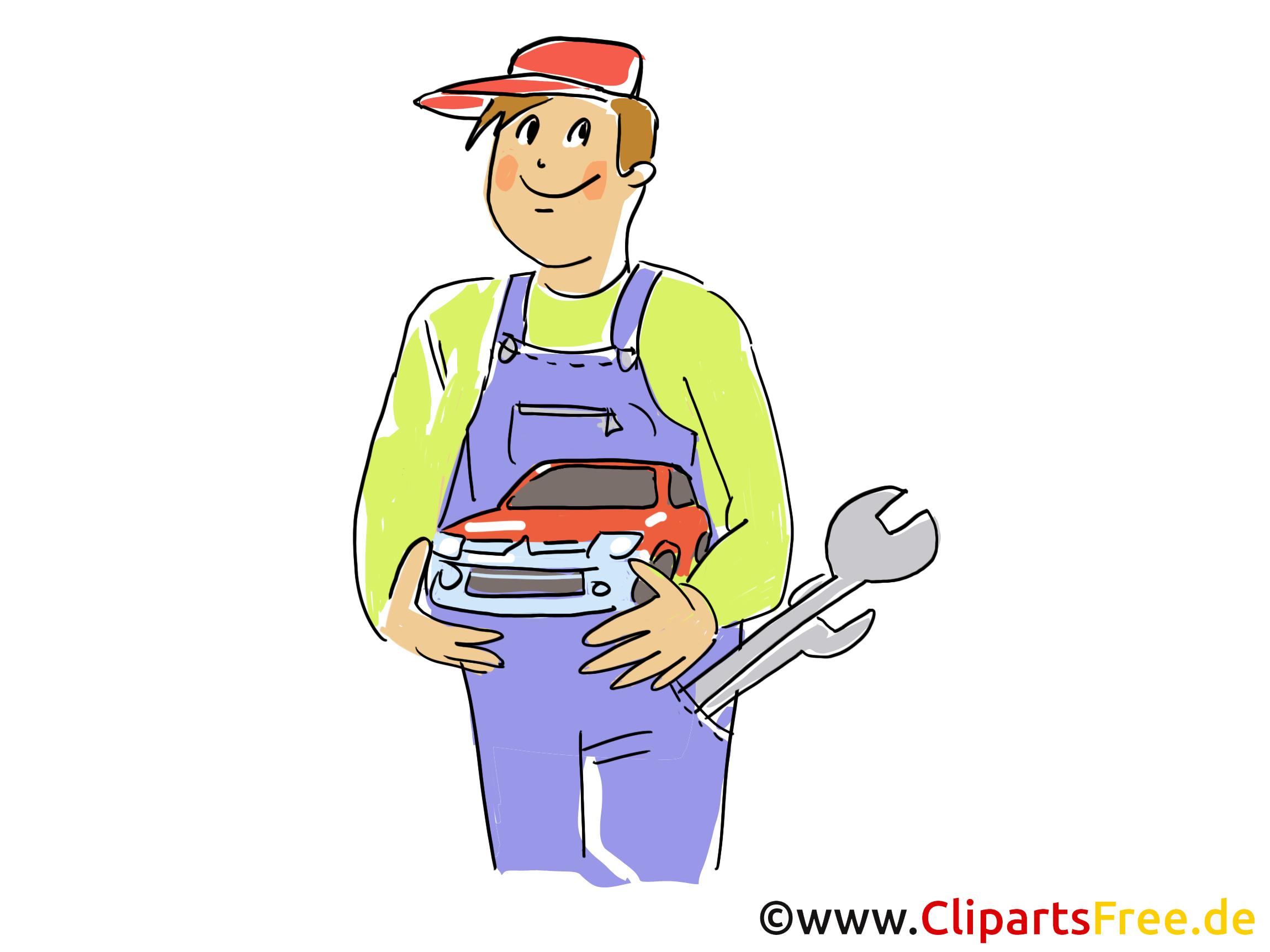 Mécanicien image à télécharger - Voiture clipart