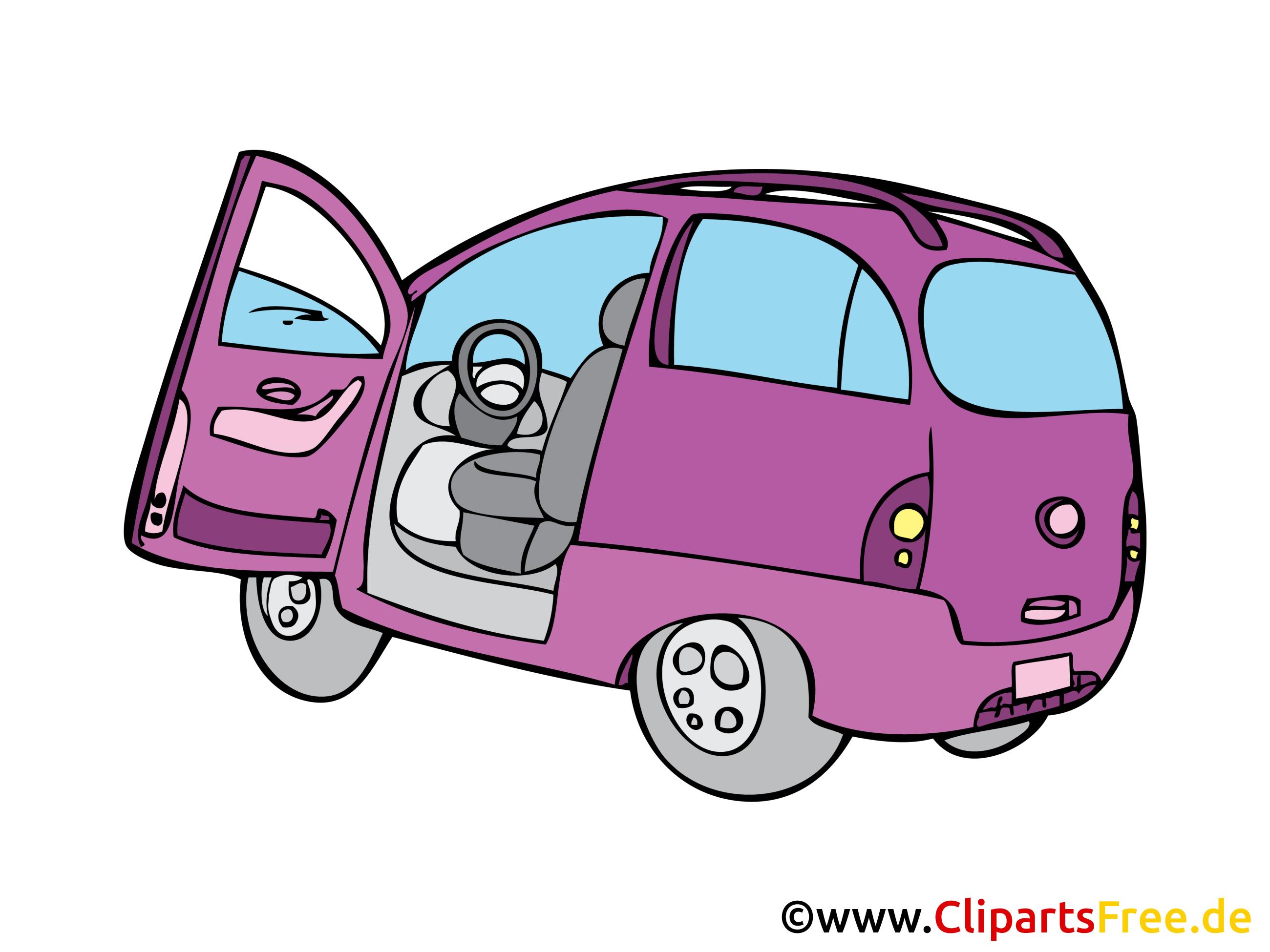 Mini-fourgonnette illustration - Fourgonette image