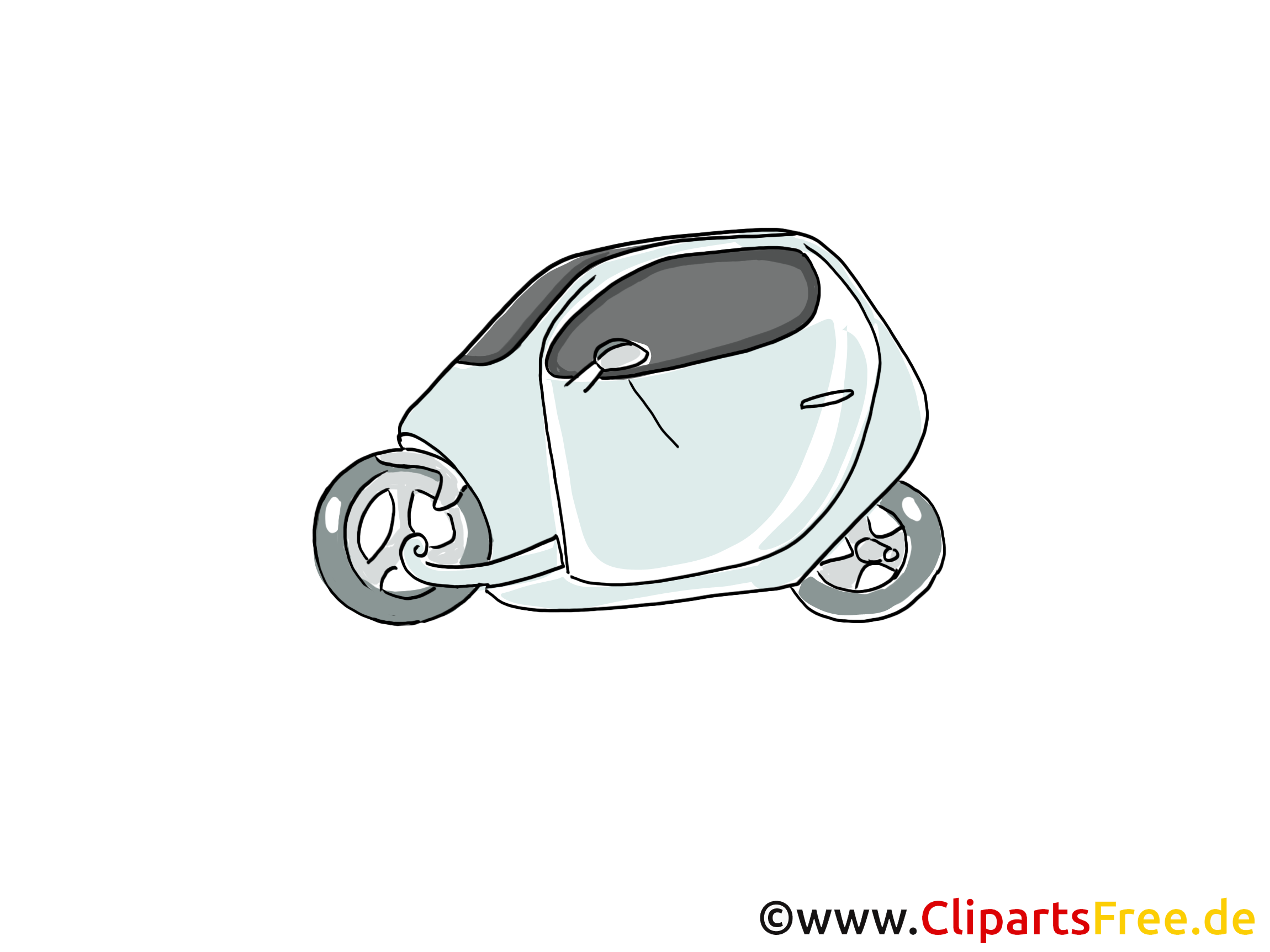 Petite voiture clip art image gratuite