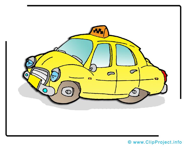 Taxi dessin à télécharger - Voiture images