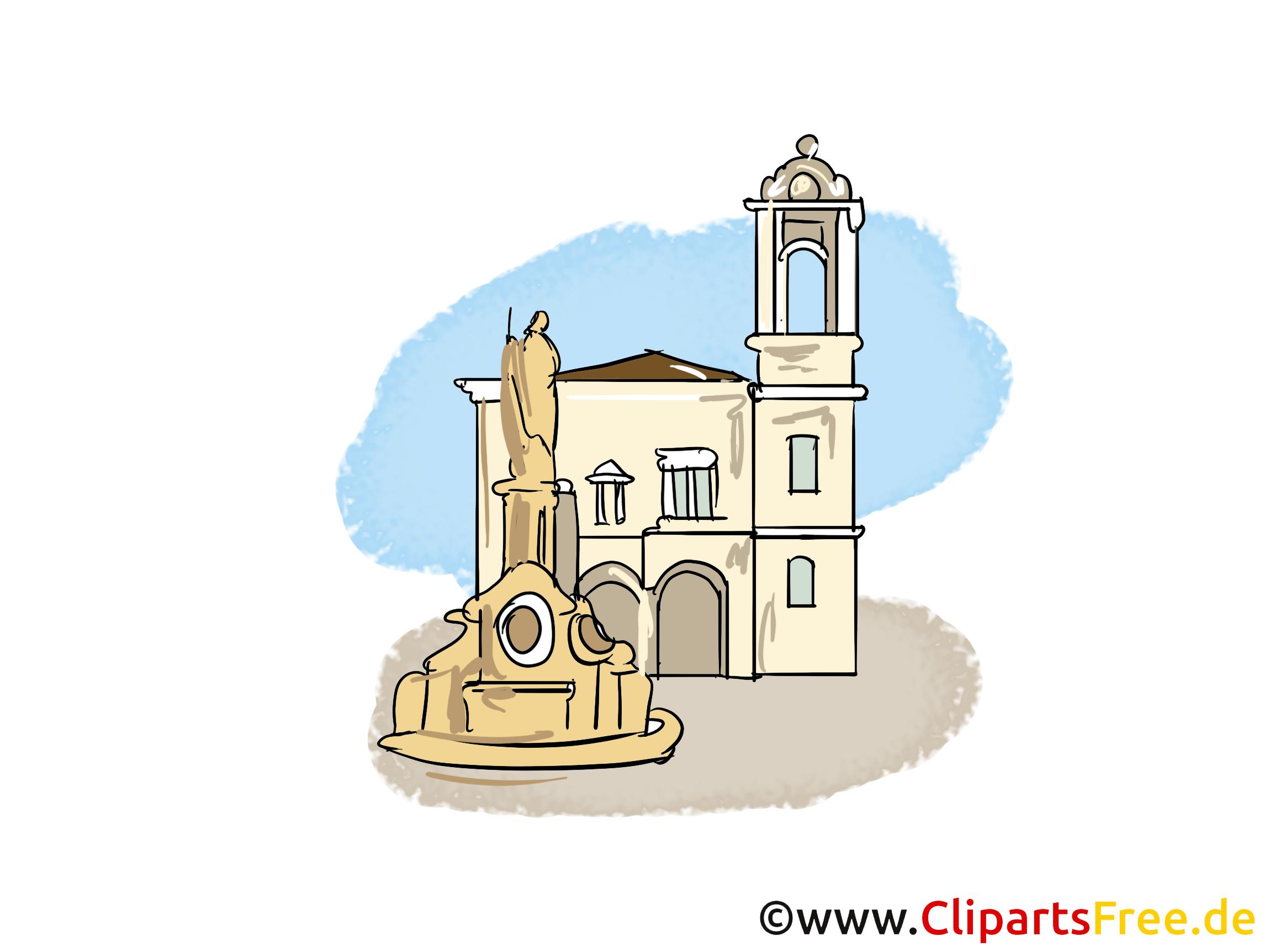 Cathédrale clip art – Église image gratuite