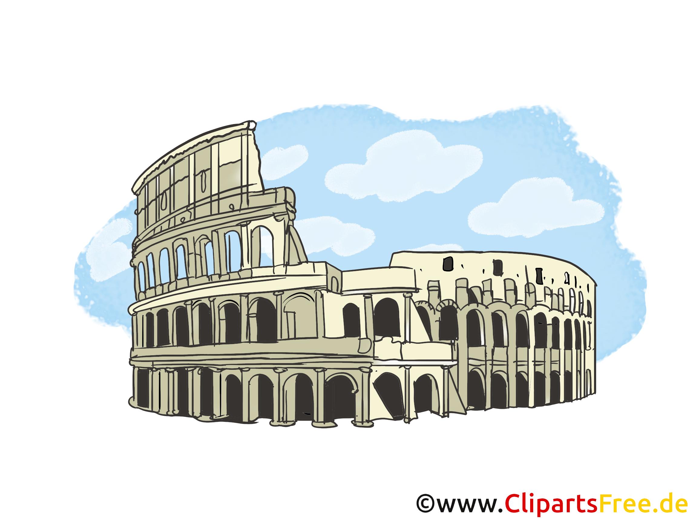 Colisée jolie carte - Rome images gratuites