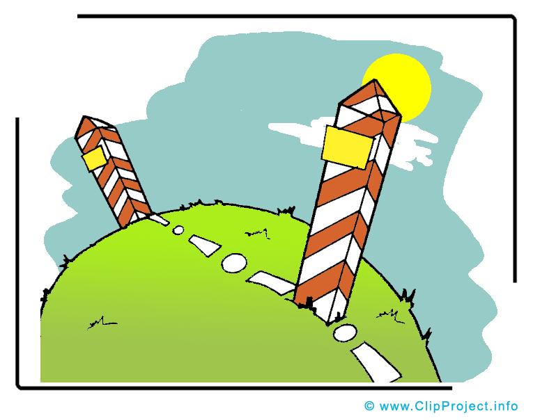 Frontière clipart gratuit - Colonnes image gratuite
