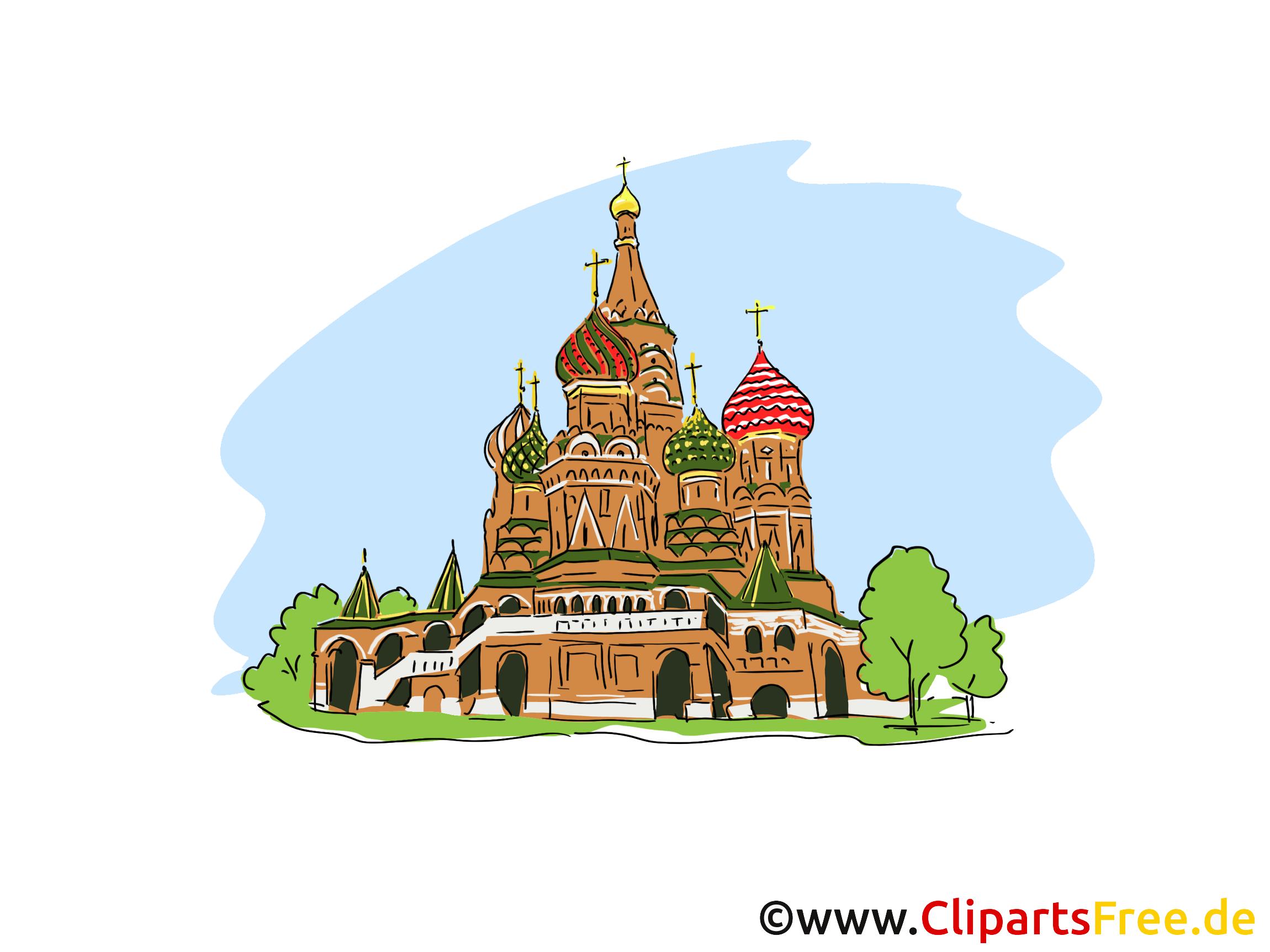 Moscou image gratuite - Cathédrale cliparts