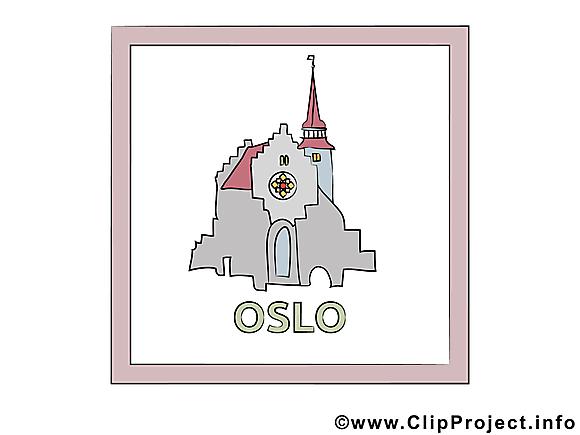 Oslo images gratuites - Norvège clipart gratuit