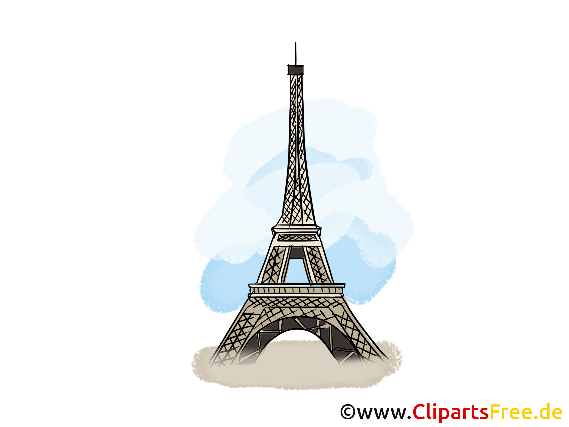 tour eiffel clipart. Black Bedroom Furniture Sets. Home Design Ideas