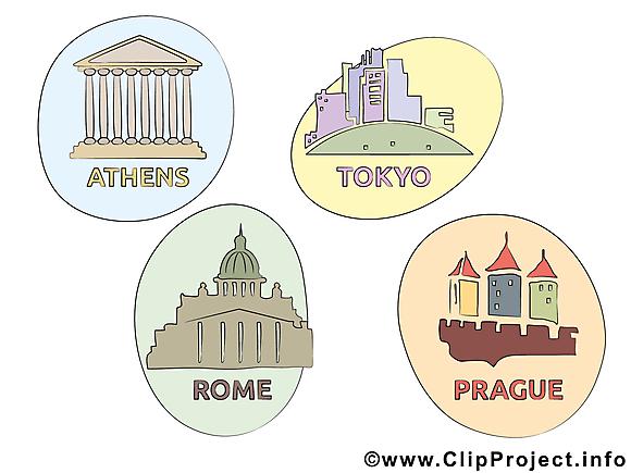 Villes clipart gratuit - Magnet images gratuites