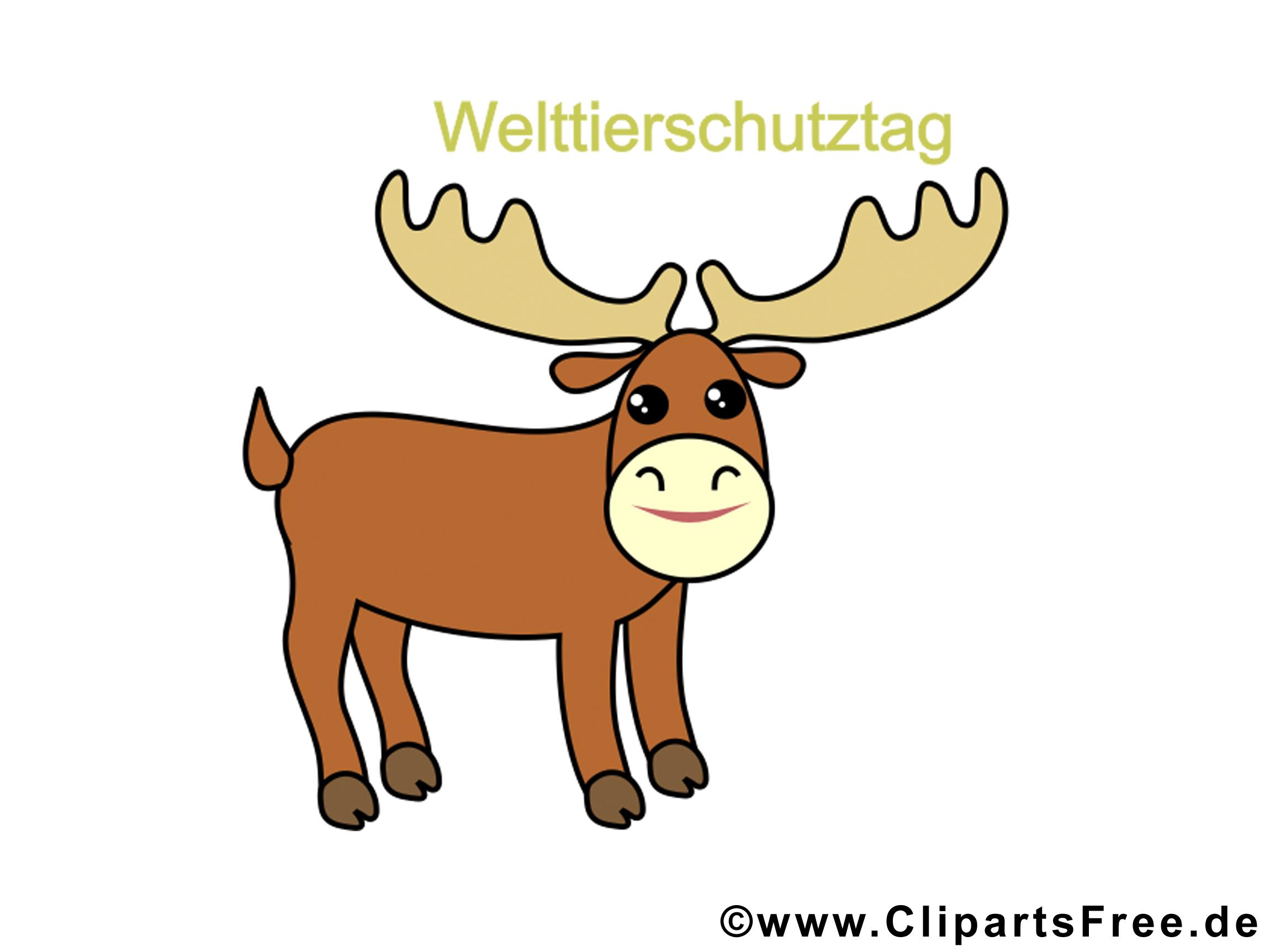 Cerf clip art – Animal image gratuite