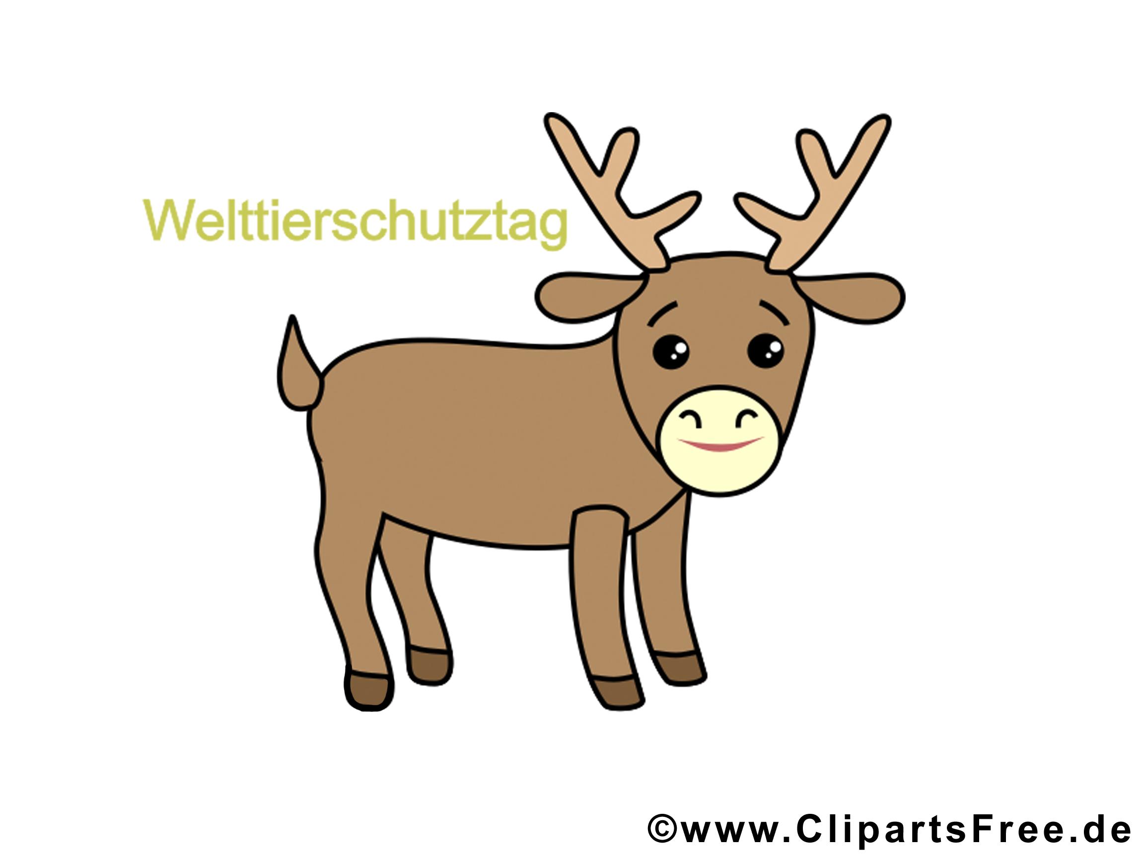 Cerf image à télécharger – Animal clipart