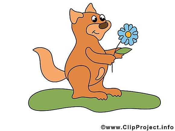 Écureuil clip art – Animal image gratuite