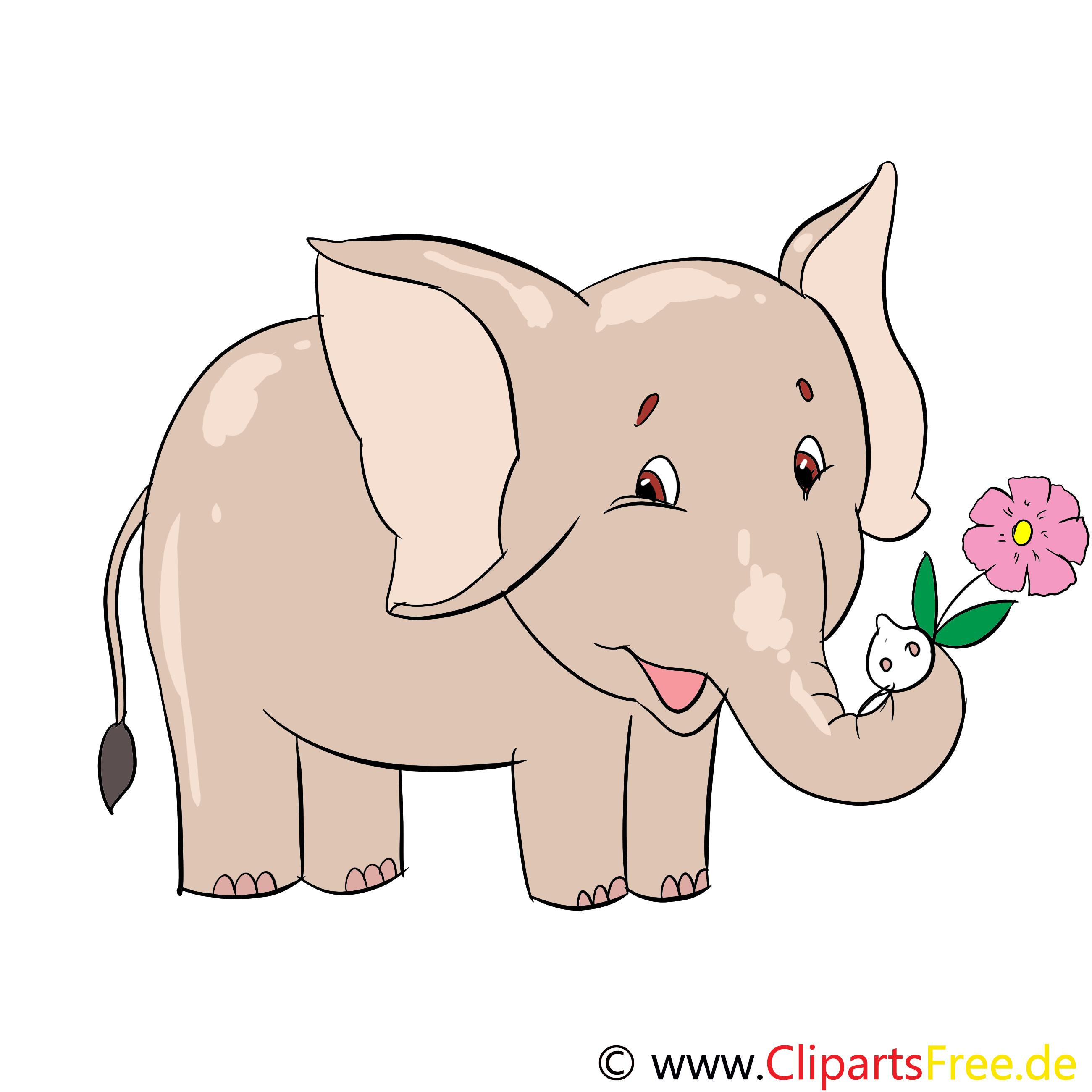 Éléphant dessin – Animal clip arts gratuits