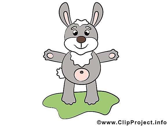 Lièvre clipart – Animal dessins gratuits