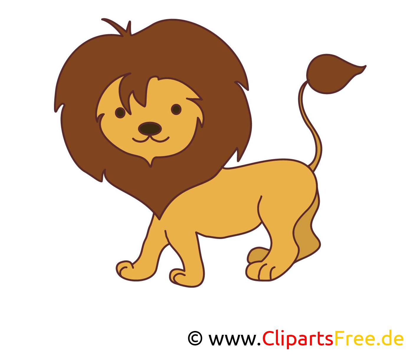 Lion image gratuite – Animal cliparts